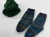 2018 S&T hat & socks, Shirley Brumley